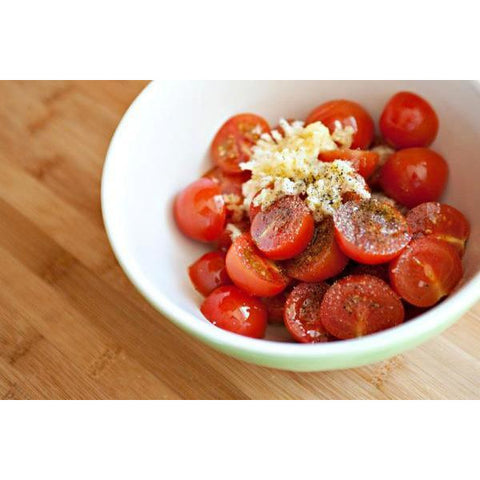 Garlic tomato salad - aklabaity delivers best home made food