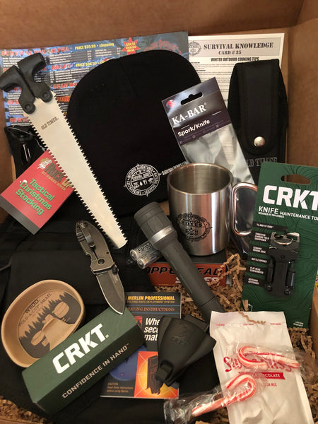 DECEMBER 2018 SURVIVAL BOX - GEAR ONLY XL SANTA'S SURVIVAL STOCKING & GEAR
