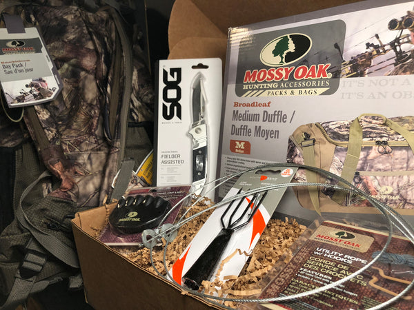 NOVEMBER 2018 SURVIVAL BOX -GEAR ONLY XL SURVIVAL HUNTING MODERN & PRIMITIVE