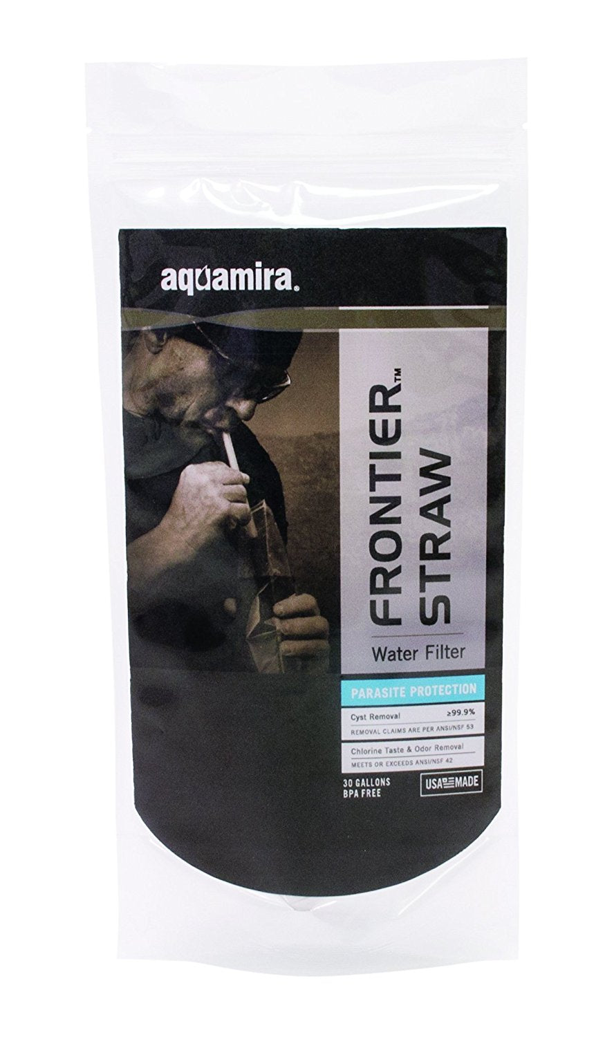 Aquamira Frontier Straw Water Filter