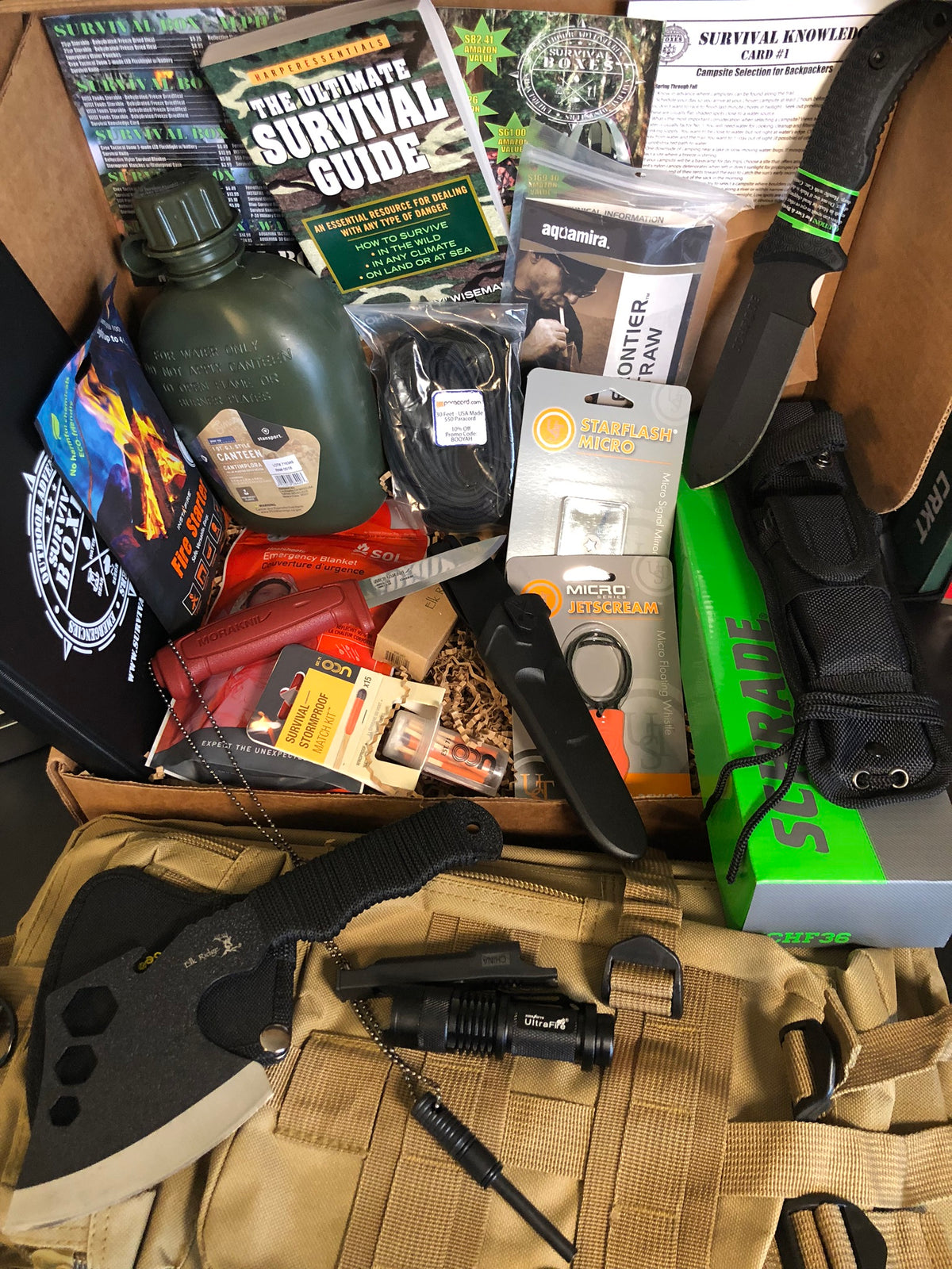 SURVIVAL BOX (GEAR ONLY XL)