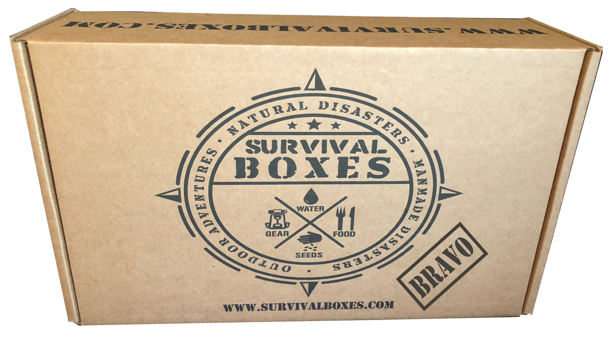 SURVIVAL FOOD BOX (BRAVO)