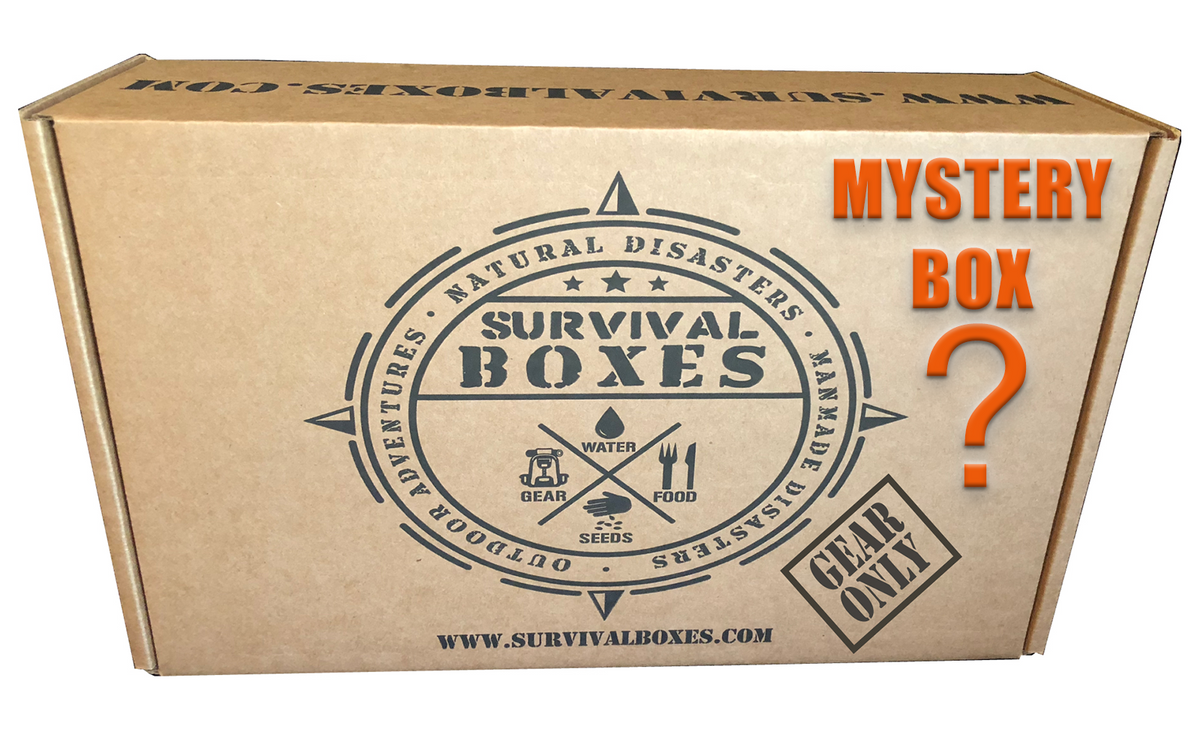 MYSTERY SURVIVAL BOX (GEAR ONLY)
