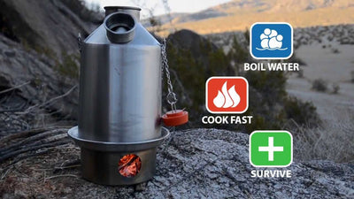 Kelly Kettle Stainless Steel Scout - Medium