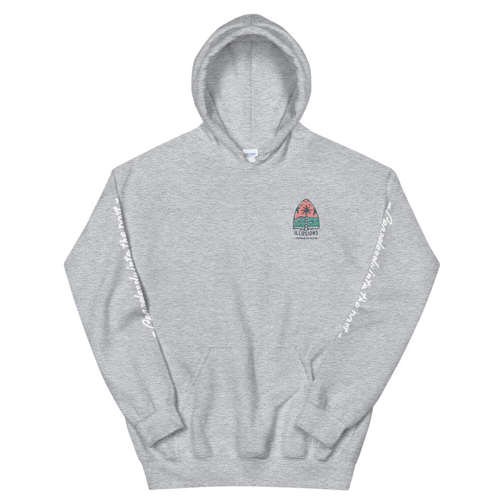 Ceaselessly Into The Past Hoodie - Illusions Clothing