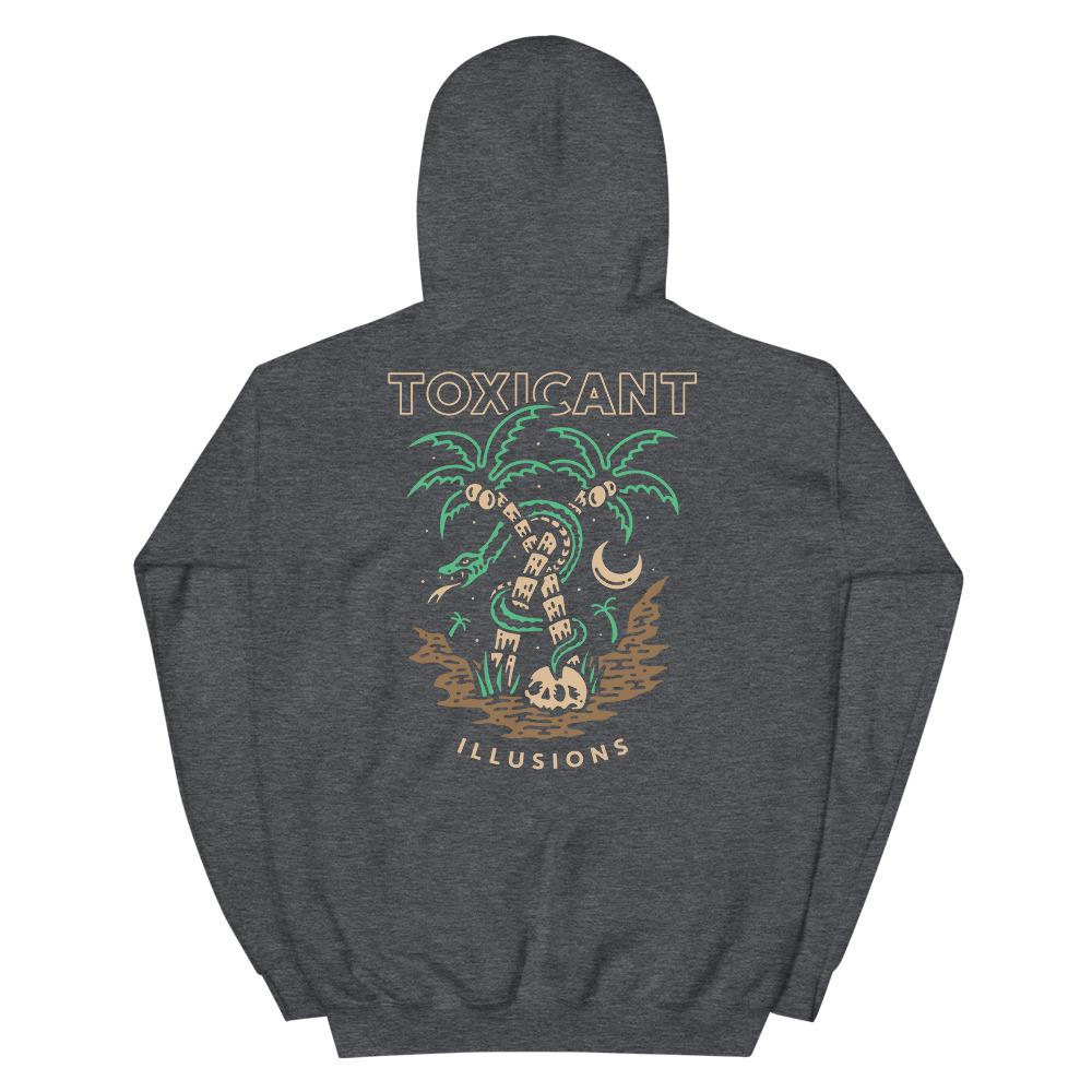 Toxicant Illusions Hoodie - Illusions Clothing