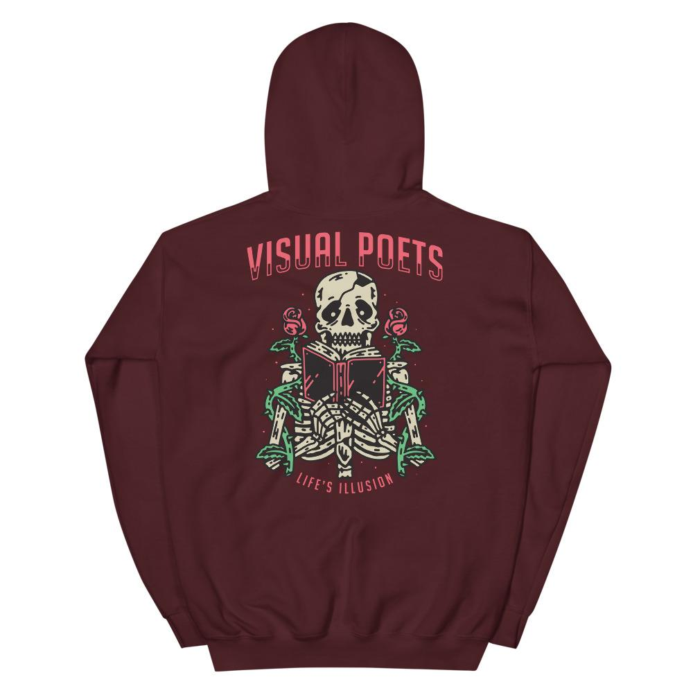 Visual Poets Hoodie - Illusions Clothing