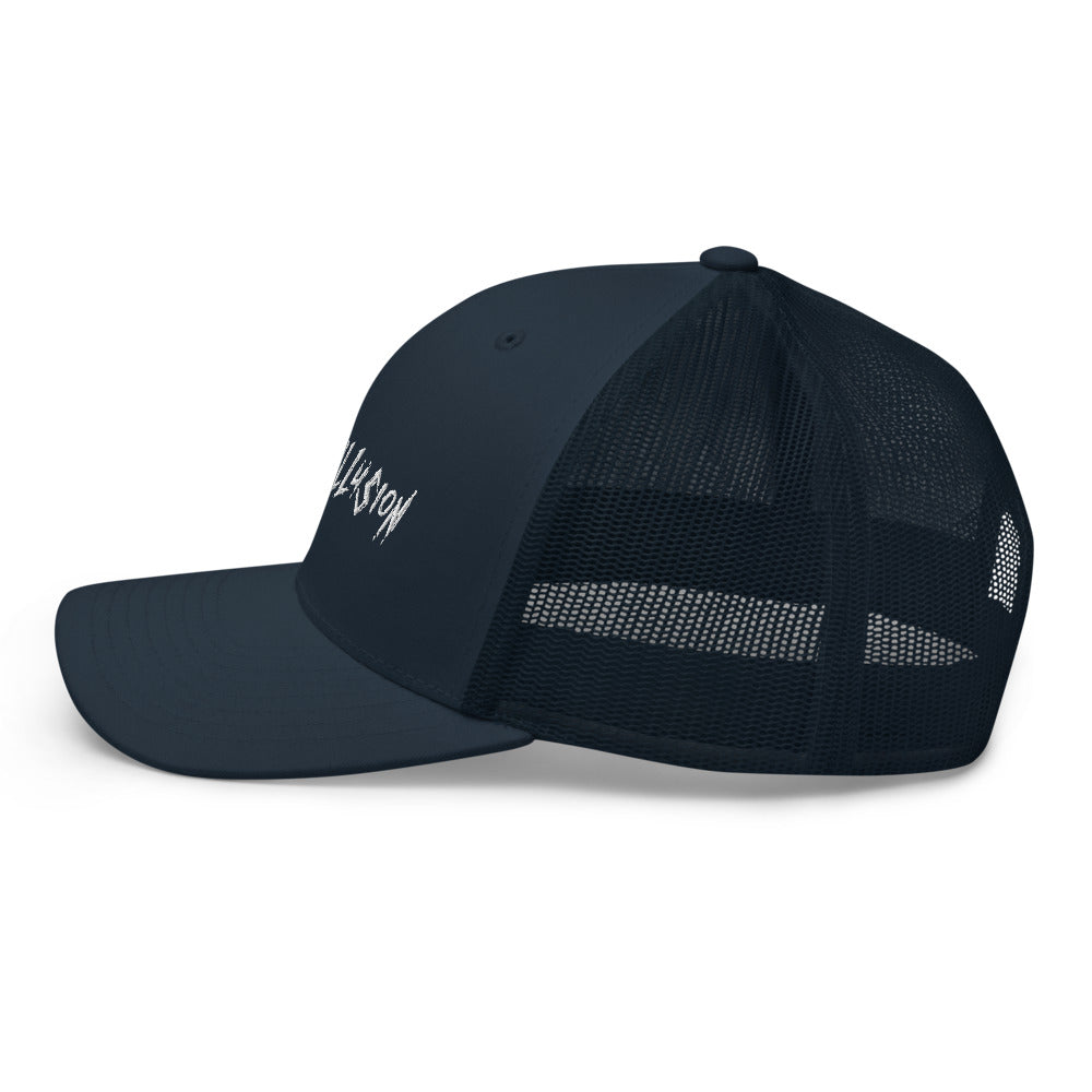 Granite Words Retro Trucker Cap