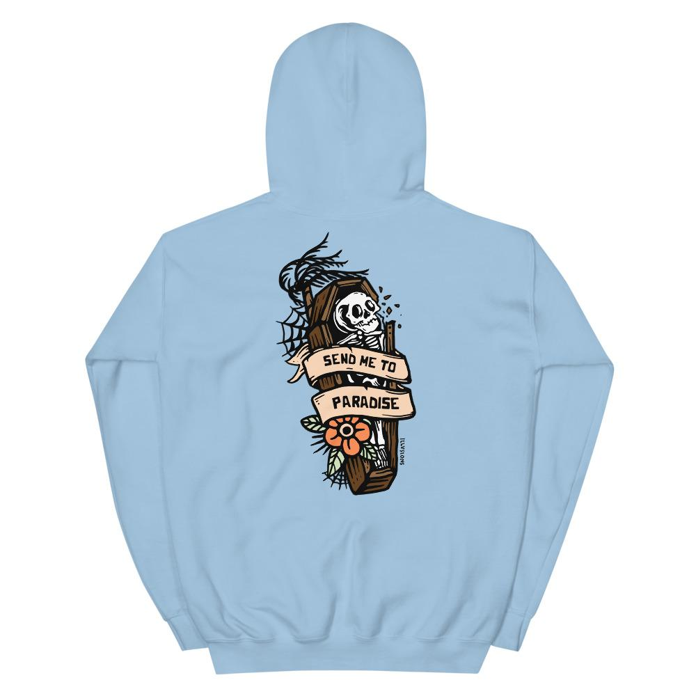Send Me To Paradise Hoodie - Illusions Clothing