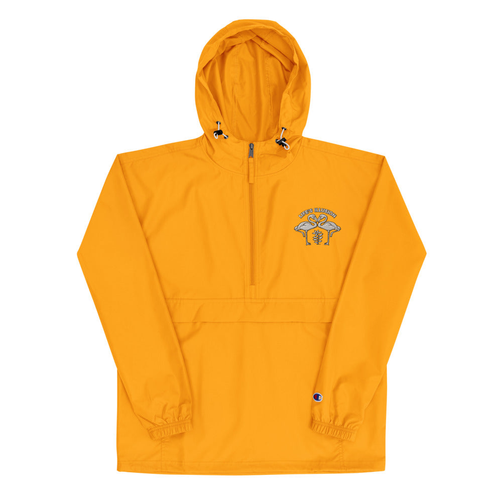 Meant To Fly Embroidered Champion Packable Jacket