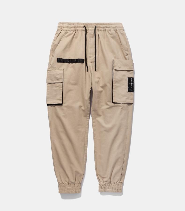 Slim Fit Cotton Chino Joggers - Illusions Clothing