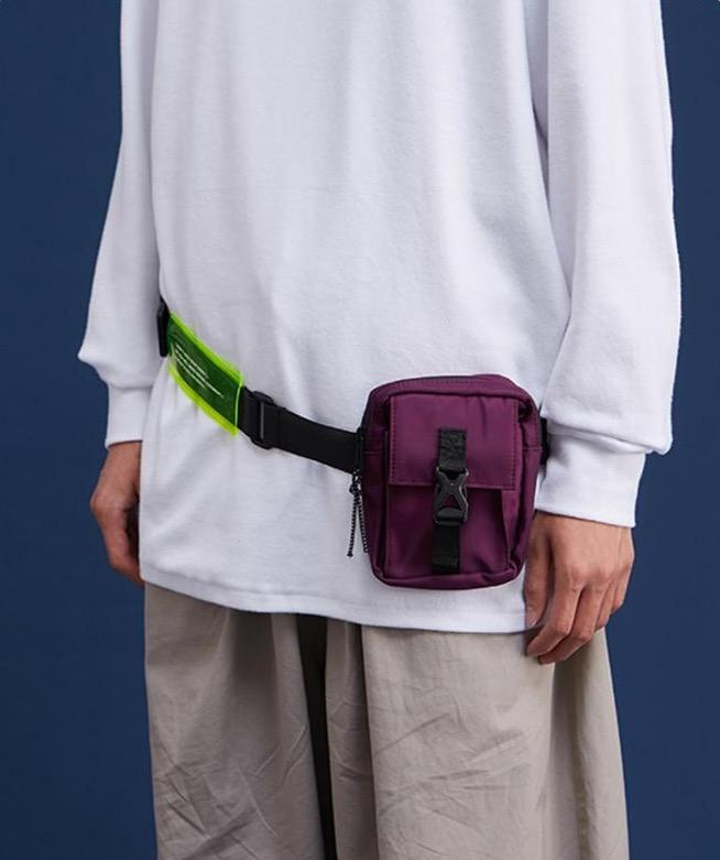 Detachable Double Fanny Pack - Illusions Clothing