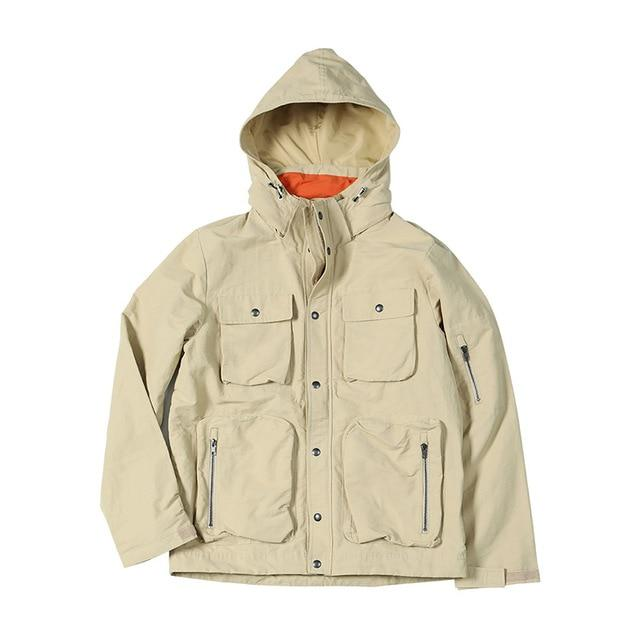 Contrast Hooded Field Jacket - Illusions Clothing