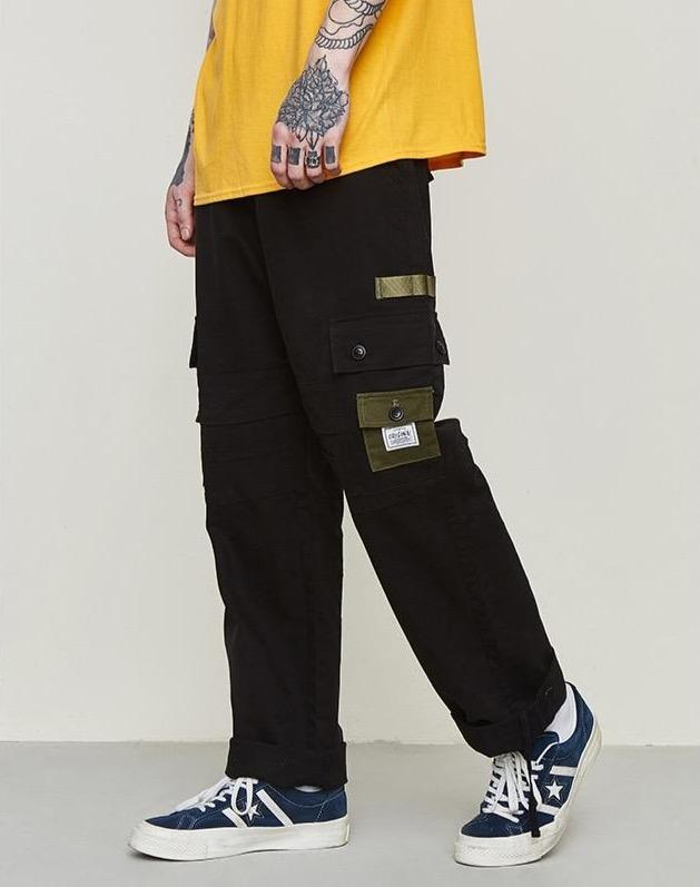 Ankle Drawstring Cargo Pants - Illusions Clothing