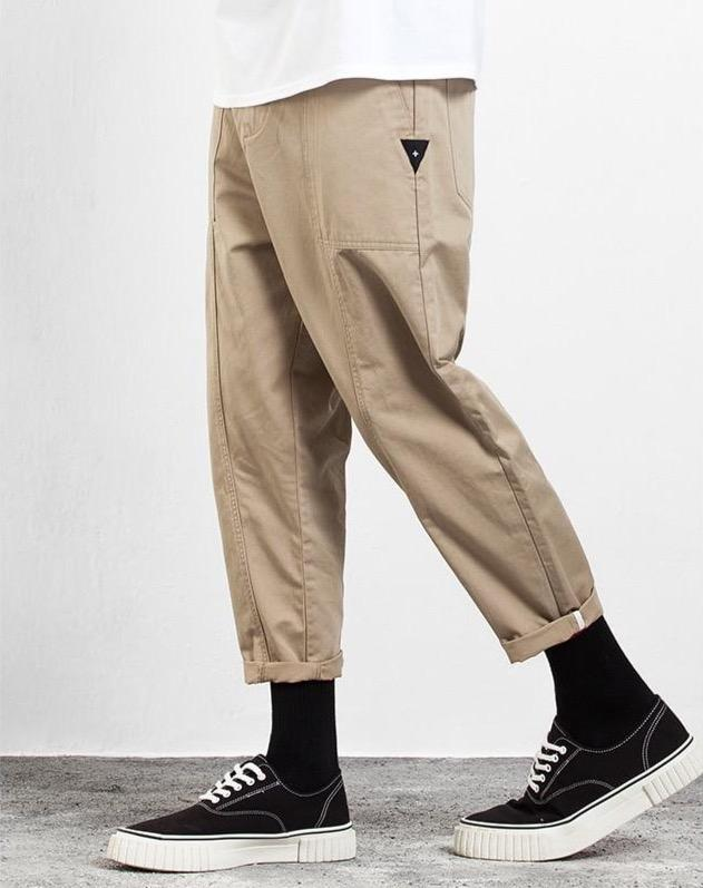 Cruciform Ankle Length Cargo Chinos