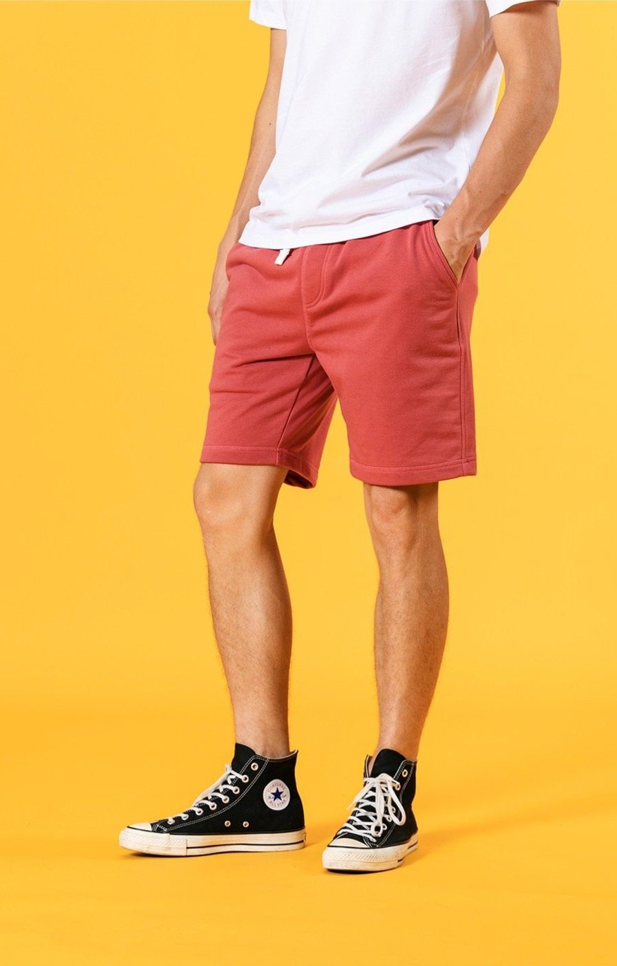 Solid Color Sweatshorts - Illusions Clothing