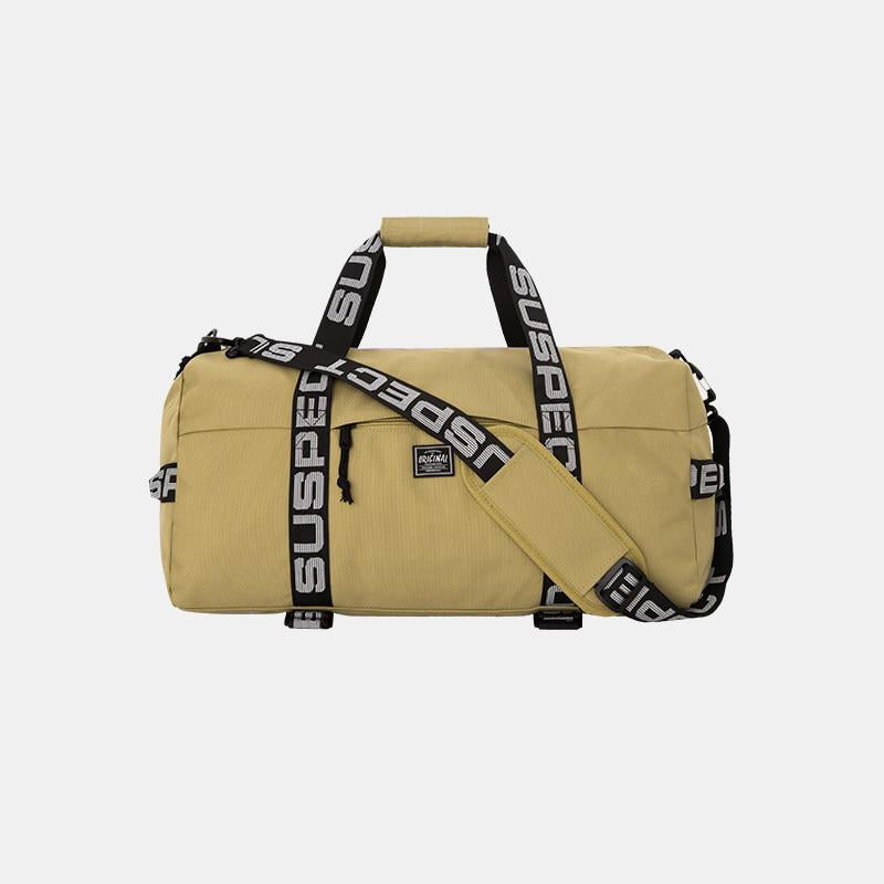 Suspect Lettered Nylon Luggage Travel Bag