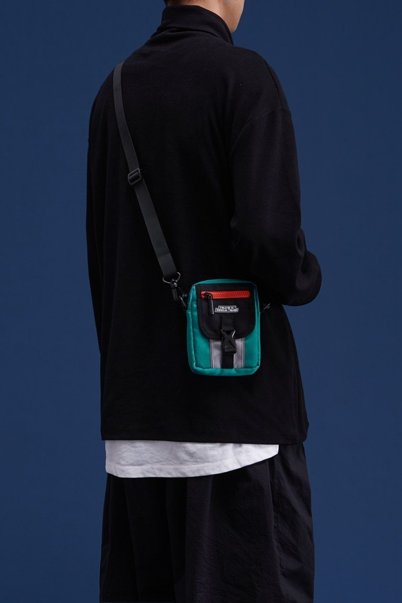 Have A Good Day Mini Reflective Fanny Pack - Illusions Clothing