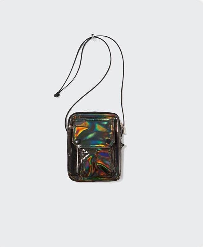 Laser Reflective Messenger Bag - Illusions Clothing