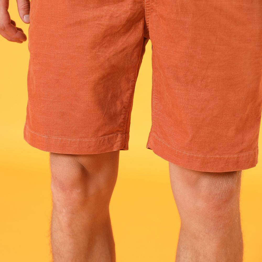 Summer Dyed Corduroy Vintage Drawstring Shorts - Illusions Clothing