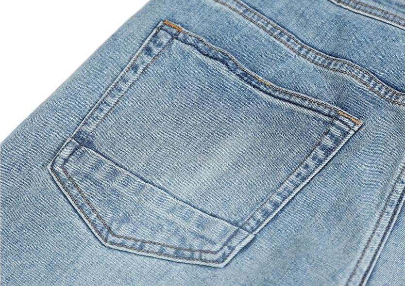 Slim Fit Laser Washed Jeans - Illusions Clothing