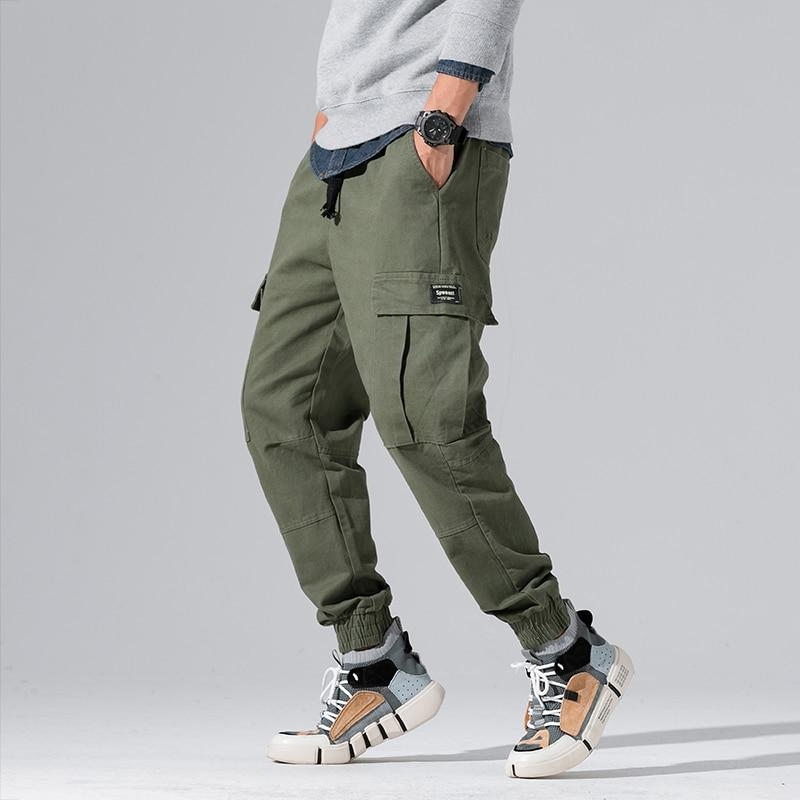 Multi-Pocket Tactical Joggers - Illusions Clothing