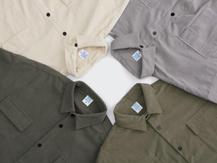 Solid Color Corduroy Shirt