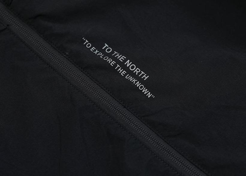 To The North Letter Printed Windbreaker Jacket - Illusions Clothing