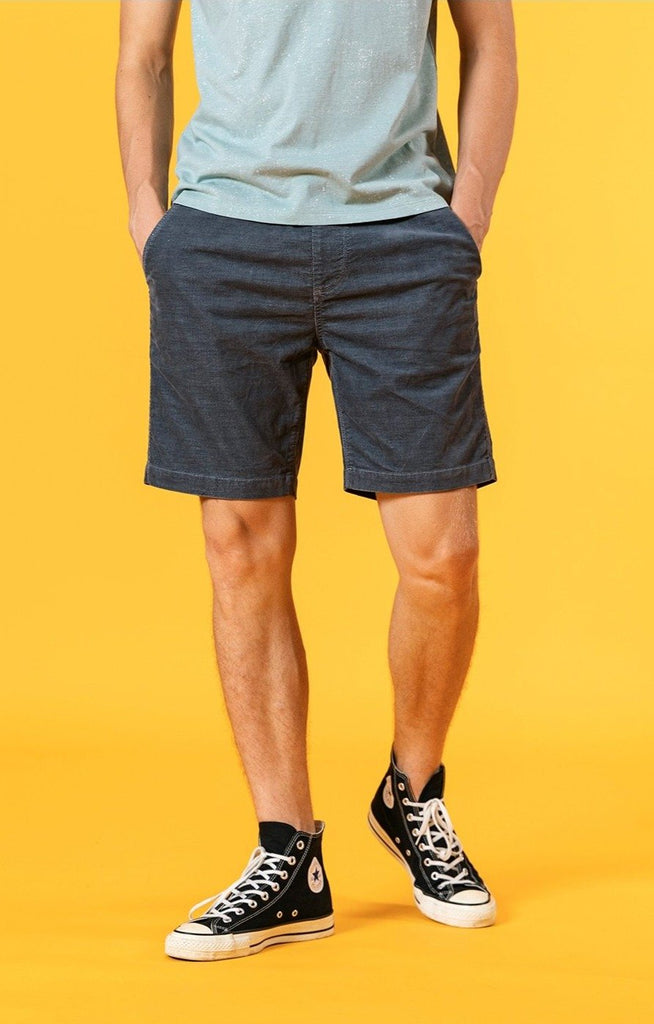 Summer Dyed Corduroy Vintage Drawstring Shorts