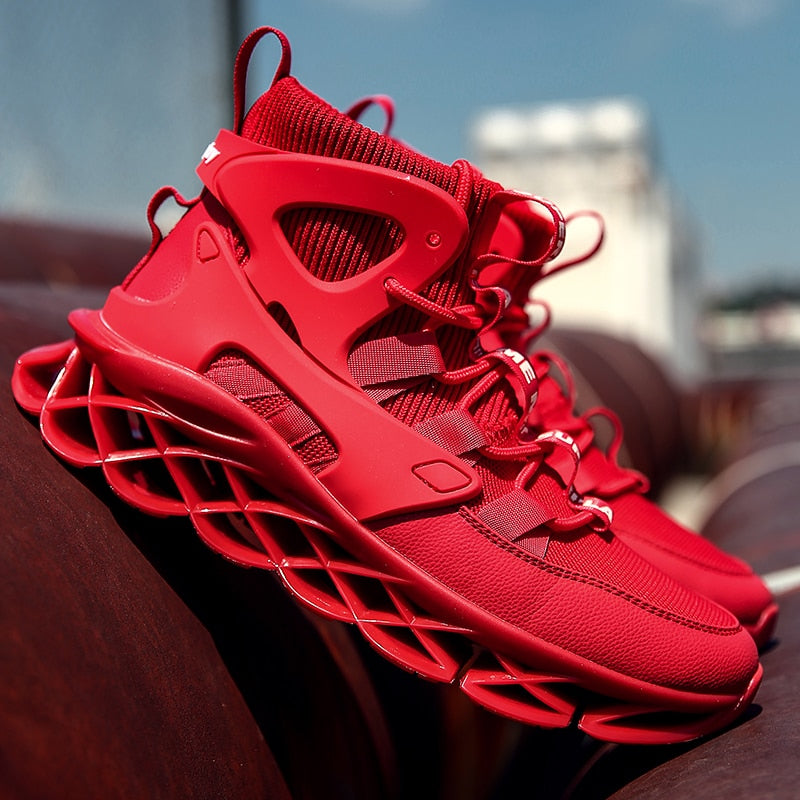Red Clip Adapt 2.0 Sneakers