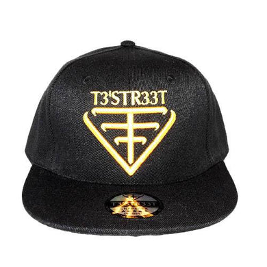 Snapback Cap - Black/Yellow