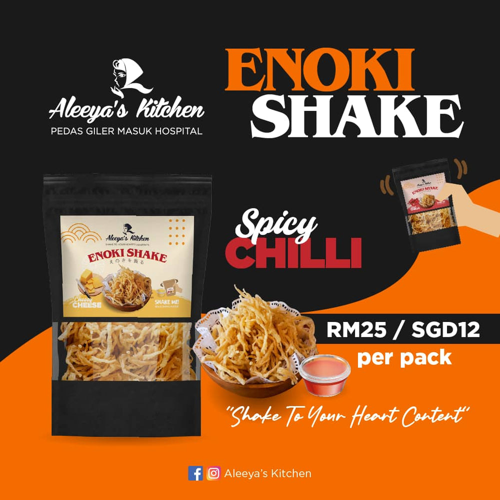 Aleeya's Kitchen Enoki Shake Spicy Chili