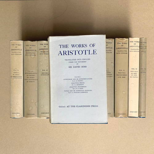 The Works of Aristotle (12 Volumes)