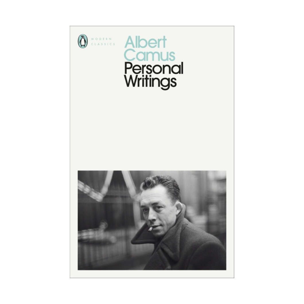 Personal Writings - Albert Camus