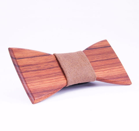 Wooden Bow Tie - By Nordvik