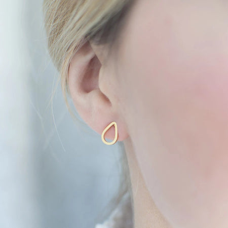 Drop Stud Earrings - By Nordvik