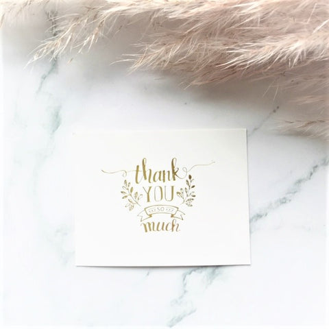 """Thank You"" greeting card - By Nordvik"