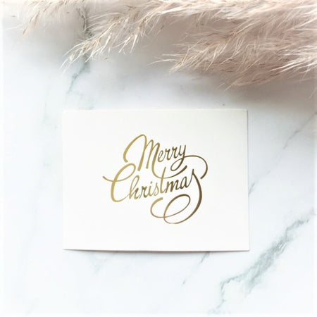 """Merry Christmas"" greeting card - By Nordvik"