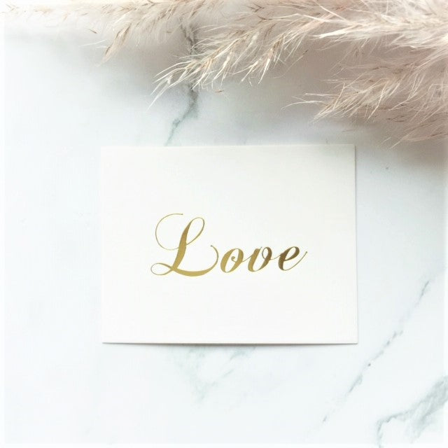 """Love"" greeting card - By Nordvik"