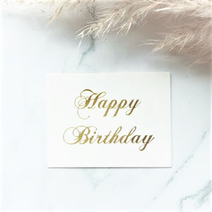"""Happy Birthday"" greeting card - By Nordvik"
