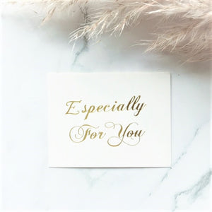 """Especially for you"" greeting card - By Nordvik"