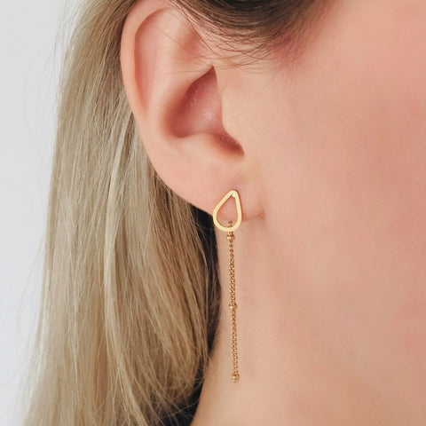 NEW Drop Chain Earrings - By Nordvik