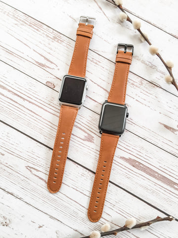 Initial Apple Watch band for Him or Her