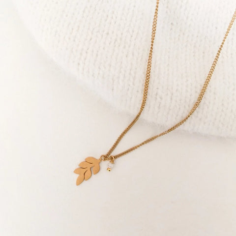 NEW Minimal Leaf Necklaces - By Nordvik