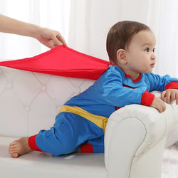 Baby Boy Full length Superman Costume
