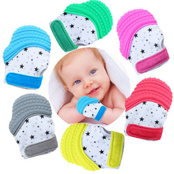 Silicone Baby Teething Gloves