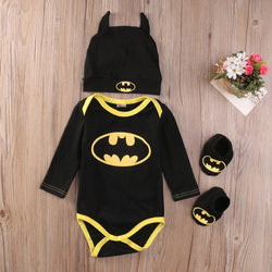 Baby Boys Batman 3pcs Outfits