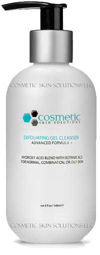 Exfoliating Cleanser Cosmetic Skin Solutions