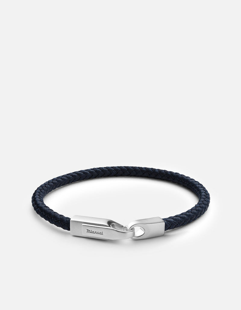Solid Navy - Crew Rope