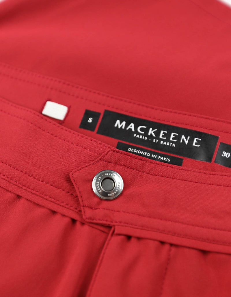 Barth4 - 00. Red Swim Shorts - Barth4 MACKEENE